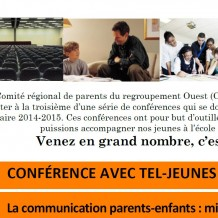Conférence parents : La communication parents-enfants : mission possible