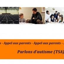 Conférence parents : Parlons d'autisme (TSA)