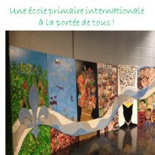 Quelques places encore disponibles à la seule école primaire internationale francophone de l'Ouest de l'île.