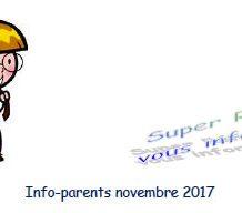 Super Rémi vous informe : Novembre