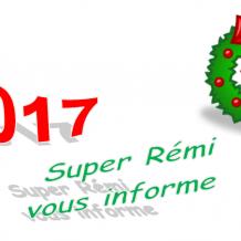 Super Rémi vous informe: Décembre